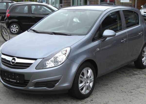 Opel Corsa Rental
